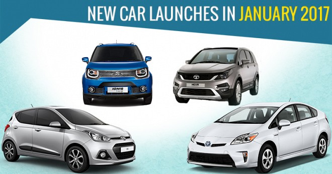 New Car Launches in January 2017