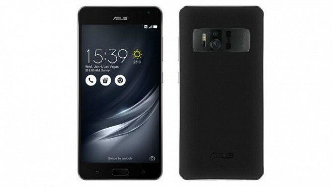 Asus ZenFone AR Revealed Ahead of CES Launch