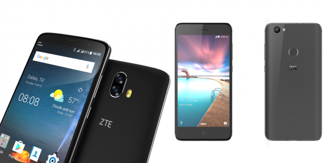 ZTE Blade V8 Pro And Hawkeye At CES 2017
