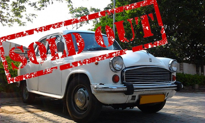 Iconic Hindustan Motors Ambassador Brand Sold-out