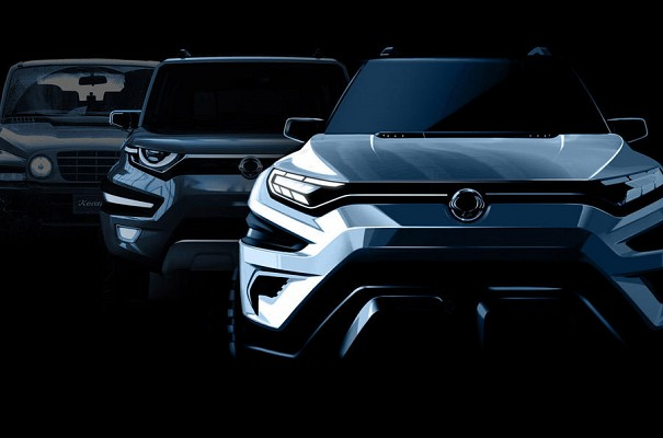 Concept SsangYong XAVL SUV to be Showcased at Geneva Motor Show 2017