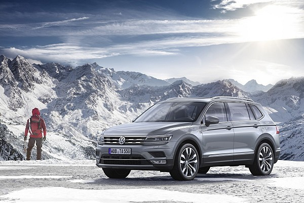 VW Tiguan Allspace Extended Wheelbase to Show up at Geneva Motor Show 2017