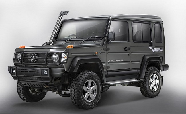 2017 Force Gurkha Launched With BSIV Compliant Engine at INR 8.38 Lakh