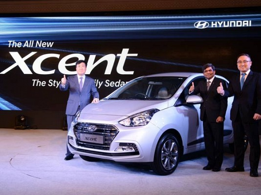2017 Hyundai Xcent facelift Launched in India, Starting at INR 5.38 Lakh
