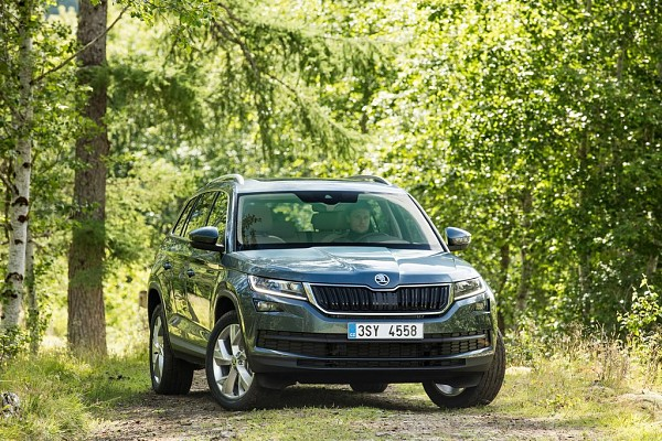 Upcoming Skoda Kodiaq SUV Bookings Open at Dealerships in India