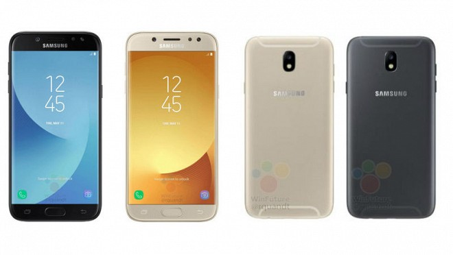Samsung Galaxy J5 (2017), Galaxy J7 (2017) Images Leaked