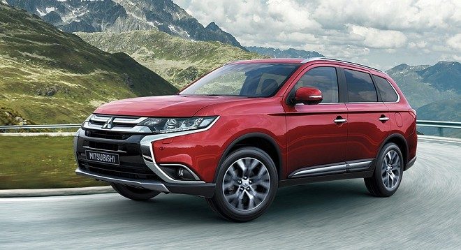 Mitsubishi to Launch 2017 Outlander in India Later This Year