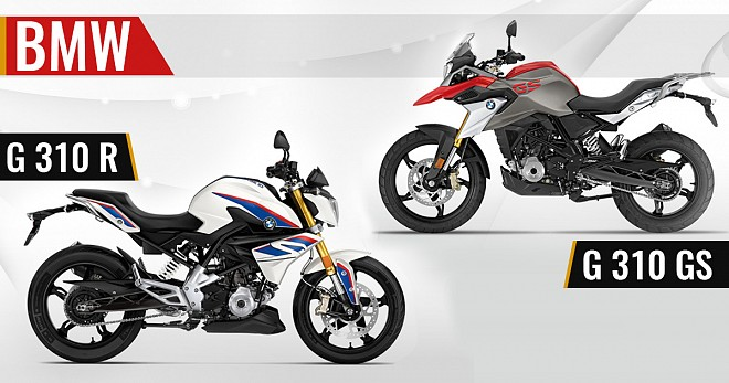 BMW G310R and G310GS