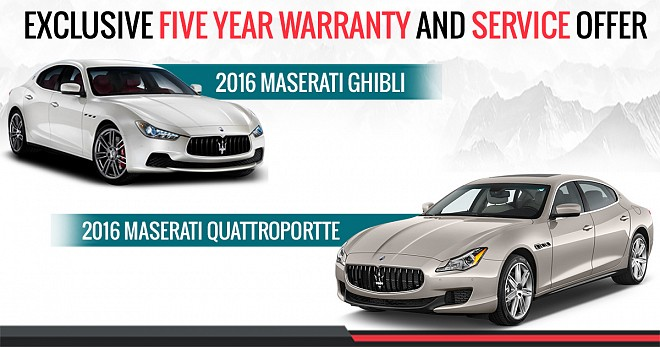 maserati india declares exclusive five year warranty and service package. Black Bedroom Furniture Sets. Home Design Ideas