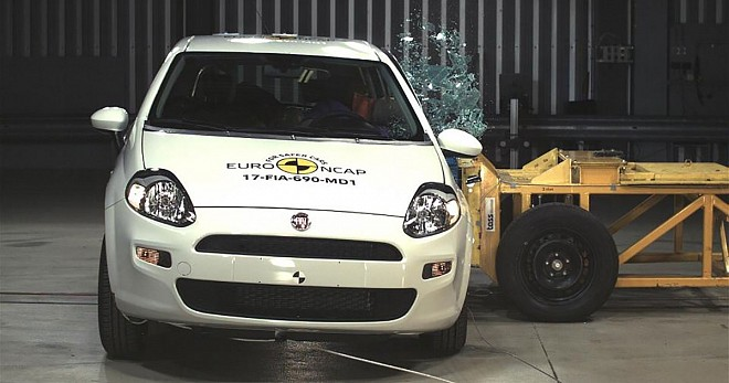 Fiat Punto scored a zero- stars the first time in the history of Euro NCAP
