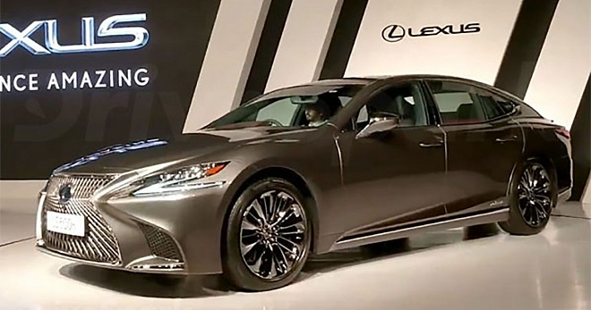lexus ls 500h launched in india priced at inr 1 7 crore. Black Bedroom Furniture Sets. Home Design Ideas