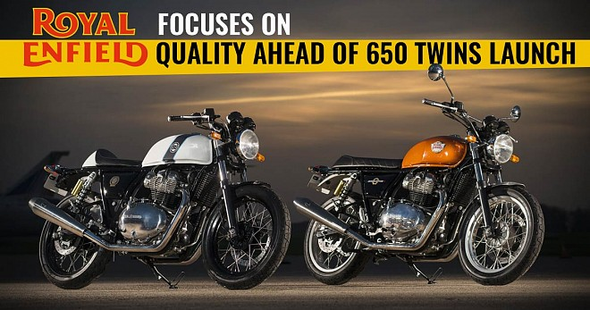Royal Enfield Quality 650 Twins