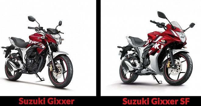 Suzuki Gixxer and Gixxer SF