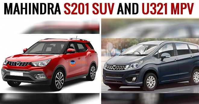 Mahindra S201 SUV and U321 MPV