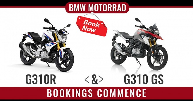 BMW G310R and G310 GS