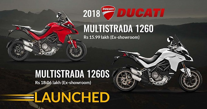 Ducati Multistrada 1260 and 1260S