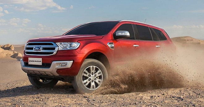 2018 Ford Endeavour (Everest)