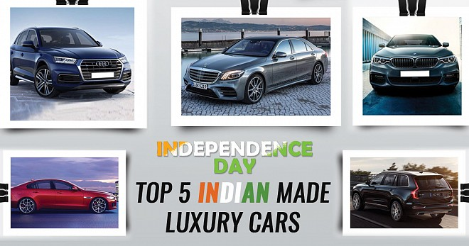 Top 5 India Made Luxury Cars on The Occasion of Independence Day 2018