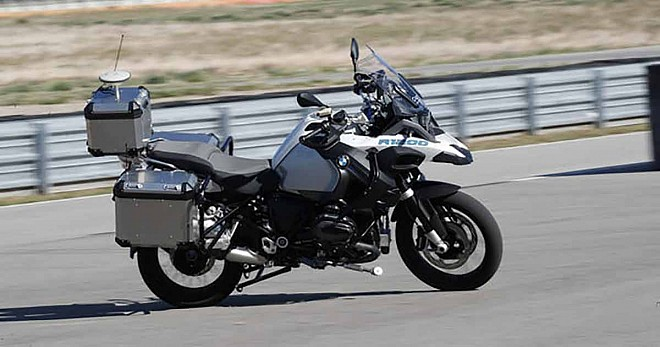 Autonomous BMW R1200GS Unveiled