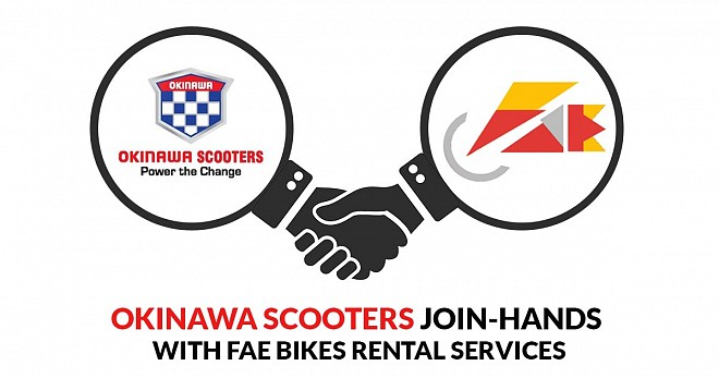 Okinawa Scooters Join-Hands with Fae Bikes