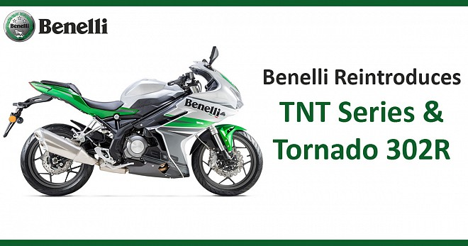 Benelli Reintroduces TNT 300 and 600i