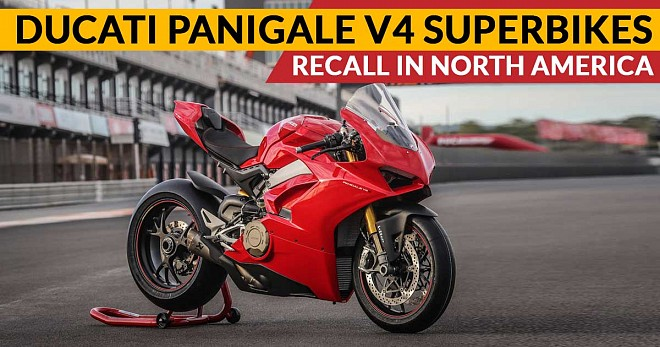 Ducati Panigale V4 Recall