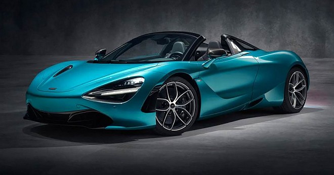 McLaren 720S Spider Convertible Specifications and Price