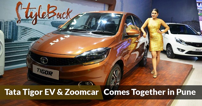 Tigor EV and Zoomcar Comes Together in Pune