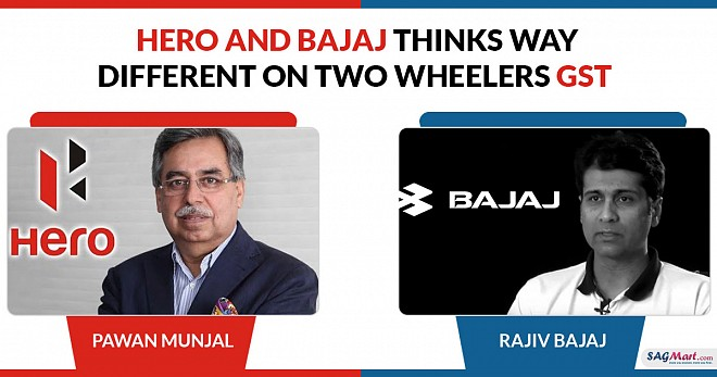 Hero and Bajaj Auto Thinks Way Two Wheelers GST