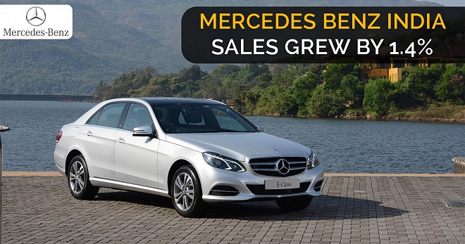 Mercedes Benz Sales India 2018