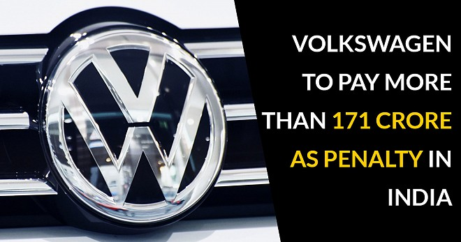Volkswagen Pay More Than 171 Crore As Penalty in India