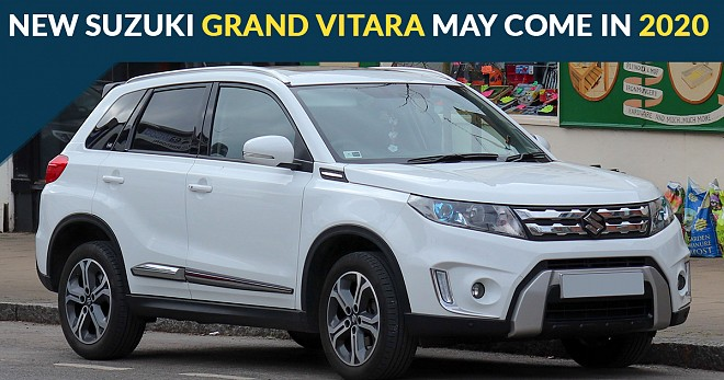 New Suzuki Grand Vitara Come in 2020