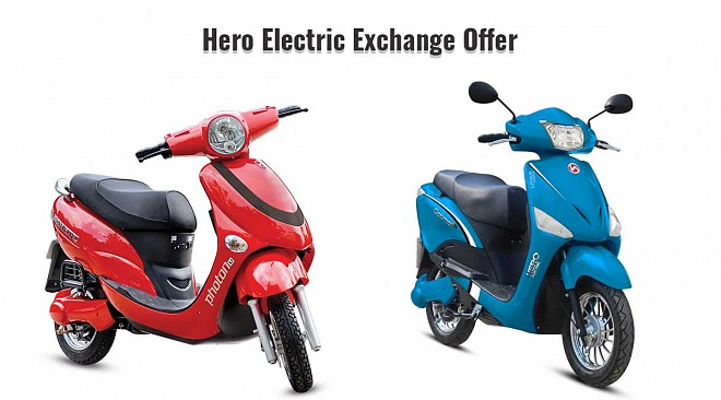 Hero Electric Exchange Bonus
