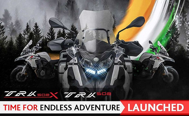 Benelli TRK 502 and TRK 502X Launch