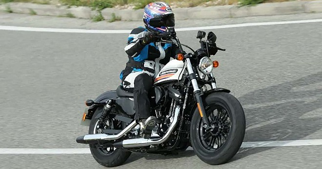 Harley Davidson Forty-Eight and Street Glide Special