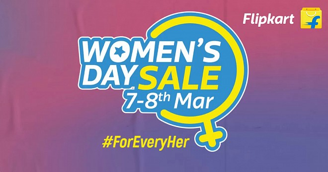 Flipkart Women Day Sale
