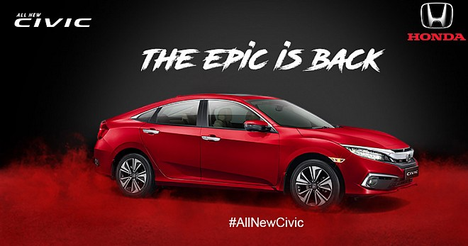 2019 Honda Civic Launched