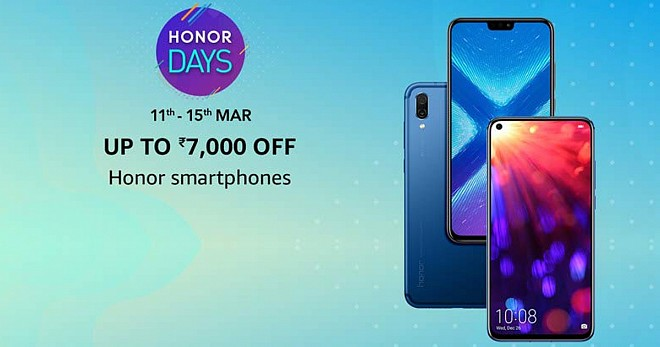 Honor Days Sale on Amazon