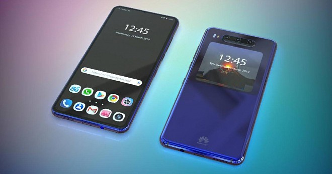 Huawei Dual Screen Phone