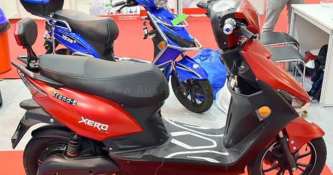 Avan Trend E electric scooter Launched