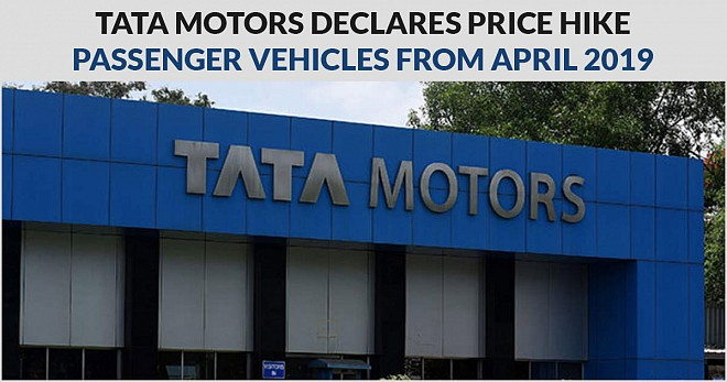 Tata Motors Declares Price Hike