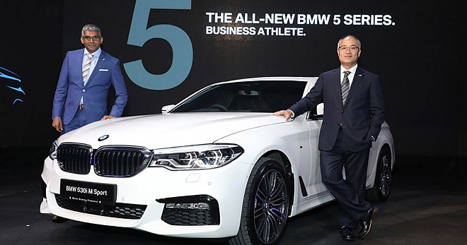 BMW 530i M Sport variant Launch