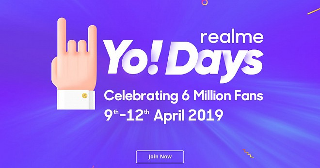 Realme Yo Days Sale