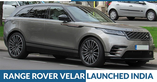 Range Rover Velar Launched India