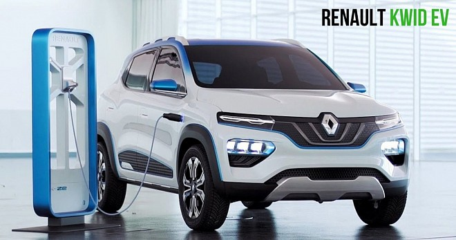 Renault Kwid EV Launch