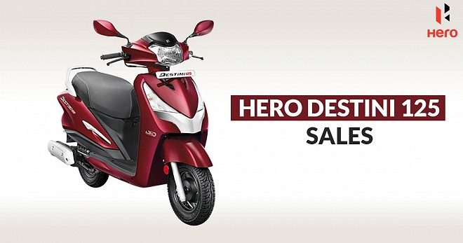 Hero Destini 125 Sales
