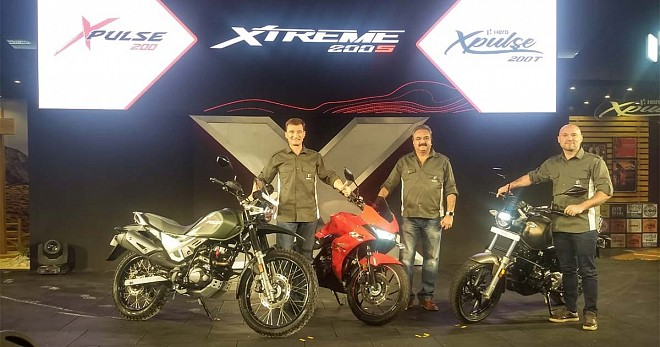 Hero XPulse 200, 200t and Xtreme 200S