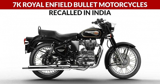 7K Royal Enfield Bullet Motorcycles