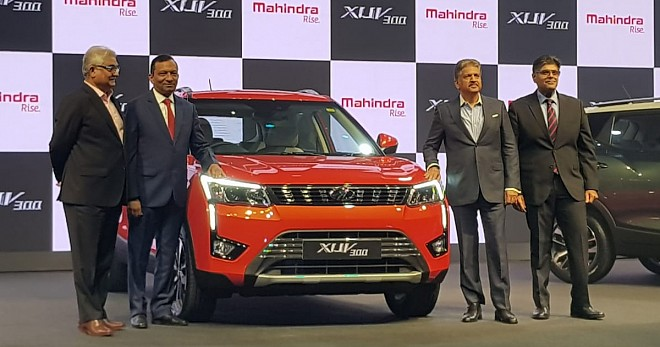 Mahindra XUV300 diesel-AMT Launch