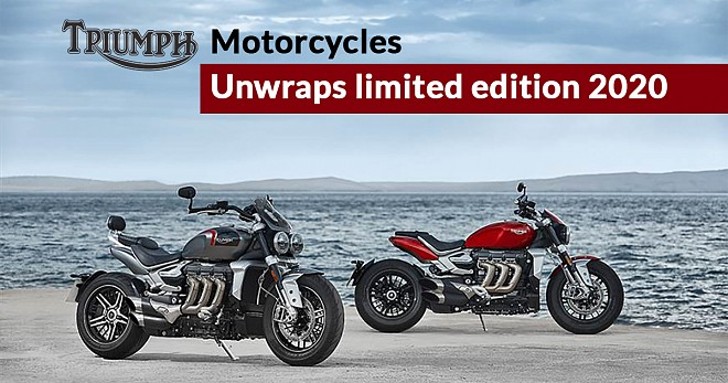 Triumph Rocket 3 R and Rocket 3 GT